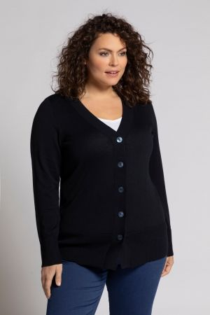 Classic Button Cardigan Sweater