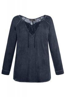 Дантелена блуза