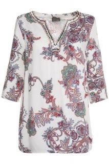 Блуза от вискоза с принт