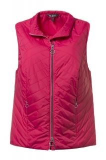 Diagonal Quilted Vest